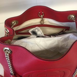 Gucci Bags - Gucci red new with tags and receipt authentic bag